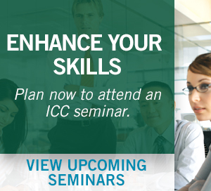 Upcoming Seminars from ICC