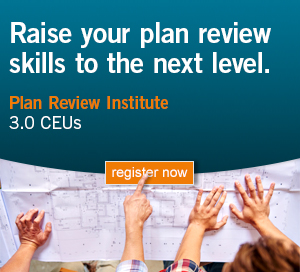 Plan Review Institute Ad