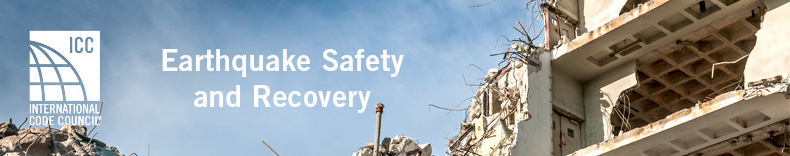 Earthquake safety Banner
