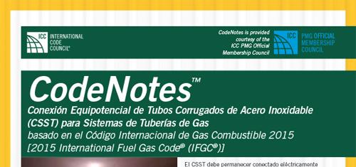 Conexión Equipotencial de Tubos Corrugados de Acero Inoxidable (CSST) para Sistemas de Tuberías de Gas
