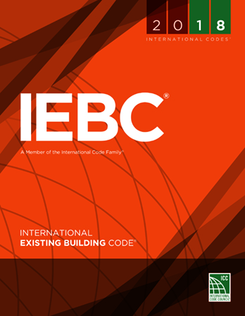 International Existing Building Code Book Cover