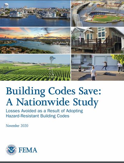 Building Codes Save: National Study