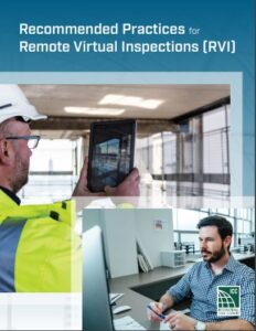 Remote Virtual Inspections publication cover