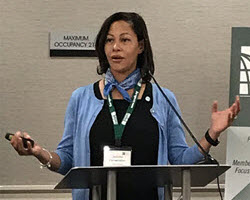 Jennifer Fairweather Presenting at the 2018 Chapter Leadership Academy