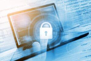 Safe Website Concept. Coding Safe Website. Programming and Coding Concept.