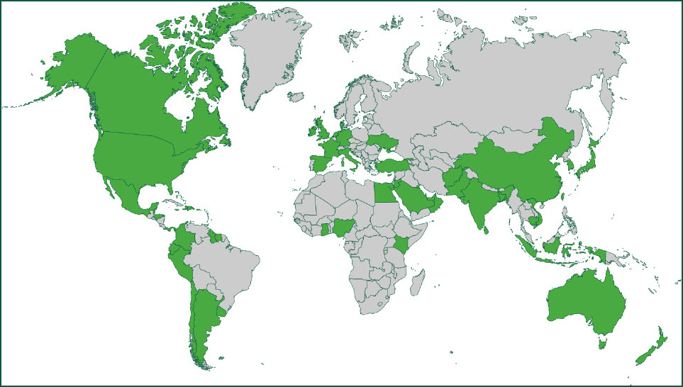 Global Activity Map