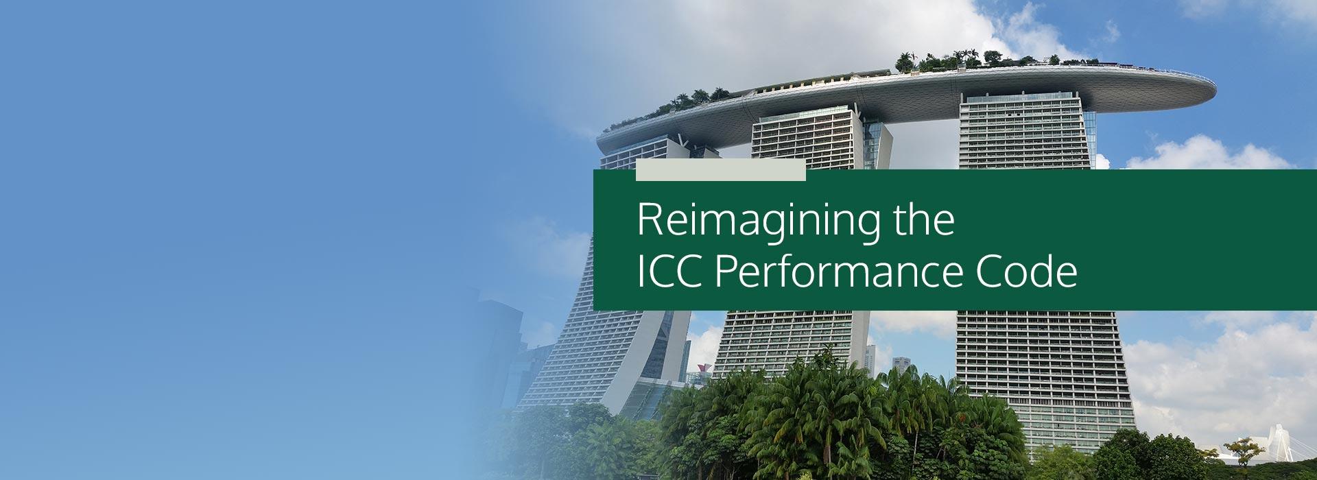 ICC Performance Code Resources